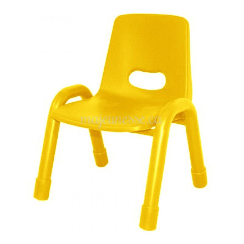 chaise m en u jaune 30 cm chaises tables chaises. Black Bedroom Furniture Sets. Home Design Ideas