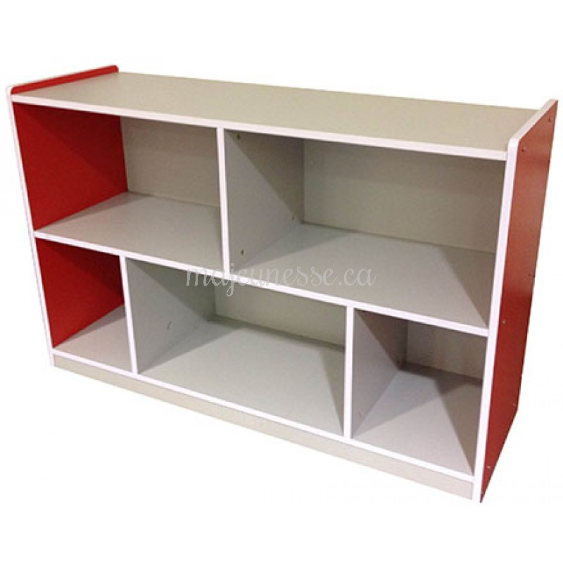 Meuble de rangement rouge 80 cm meubles for Meuble rangement 110 cm