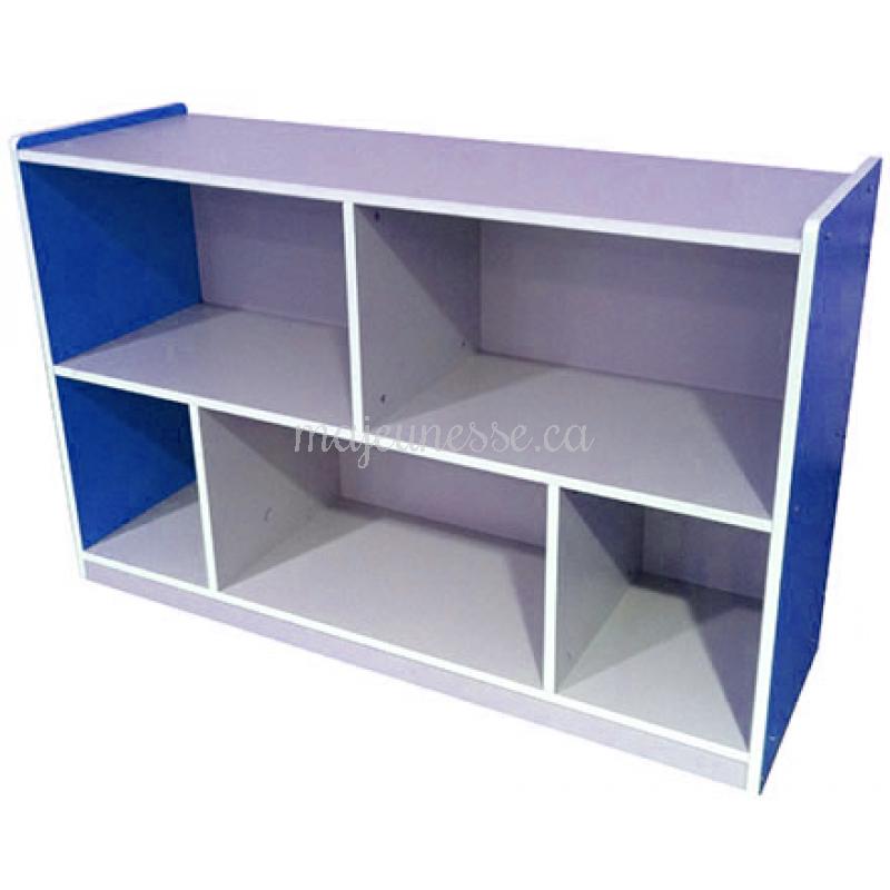 meuble de rangement bleue 80 cm meubles. Black Bedroom Furniture Sets. Home Design Ideas