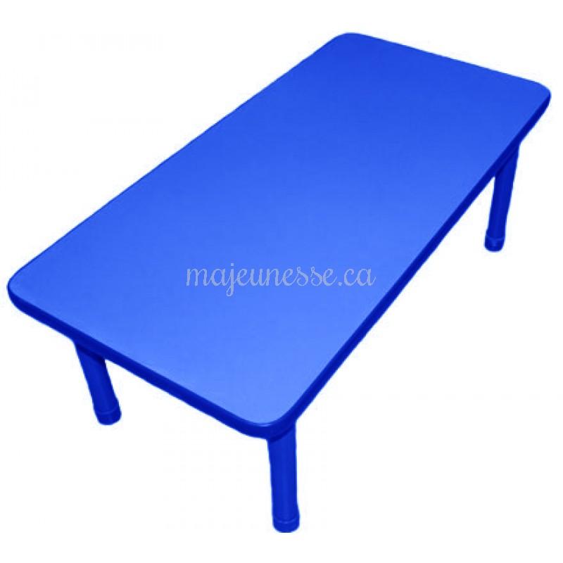 table 6 places bleue 45 cm tables tables chaises. Black Bedroom Furniture Sets. Home Design Ideas