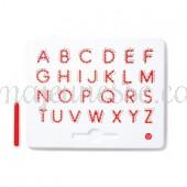Magnetic Uppercase Alphabet - Magnatab