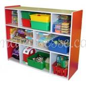 Toy Storage Unit - RED - 100 cm