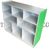 Toy Storage Unit - GREEN - 100 cm